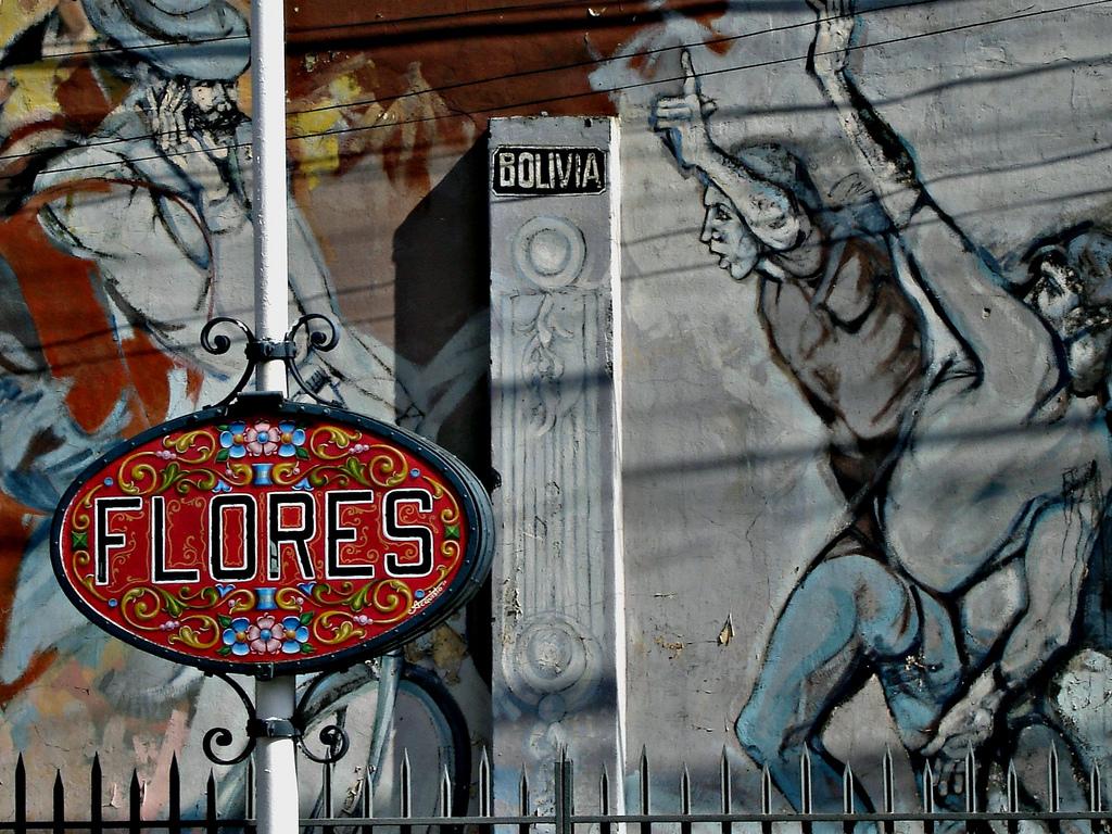 Barrios De La Ciudad Flores
